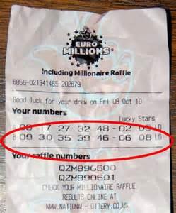 euromillions winner  losing   day