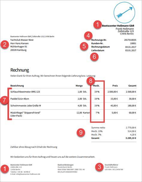 Rechnung Freiberufler Welche Steuernummer Rechnung Schreiben Die 10 Pflichtangaben