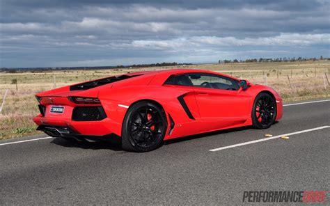 Lamborghini Back 2015 Lamborghini Aventador Lp700 4 Review