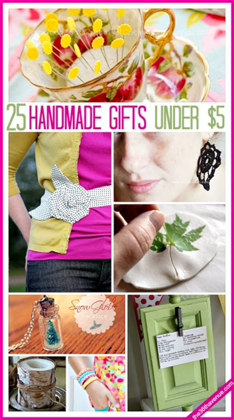 A Handmade Gift - 25 handmade gifts 5 the 36th avenue