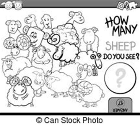 counting sheep coloring page counting sheep illustrations and clip art 196 counting