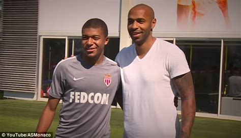 kylian mbappe thierry henry kylian mbappe his rise from unknown talent to 163 160m star
