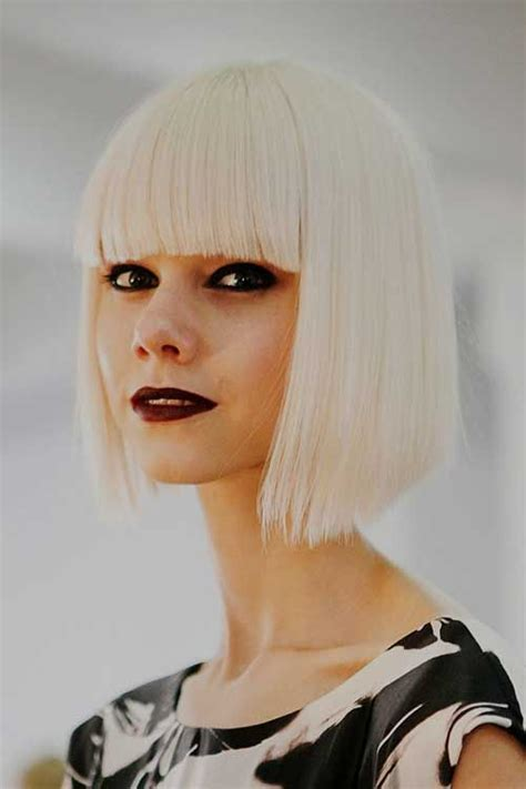 great platinum haircuts 109 best images about platinum blonde blunt bangs on