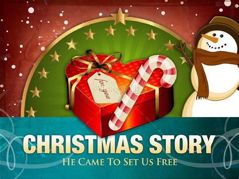 christmas story powerpoint template christmas powerpoints
