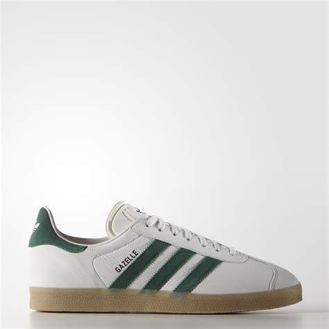 Adidas Gazelle 2 0 Green White adidas originals gazelle vintage green and white trainers