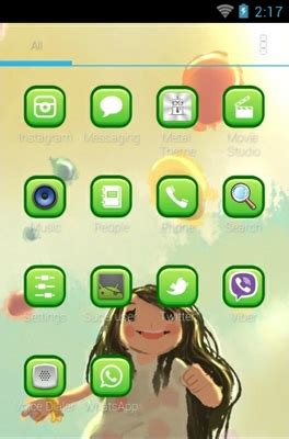 themes cute for android cute android theme for adw launcher androidlooks com