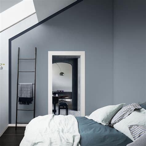 Bleu Gris Chambre quelle couleur pour une chambre parentale