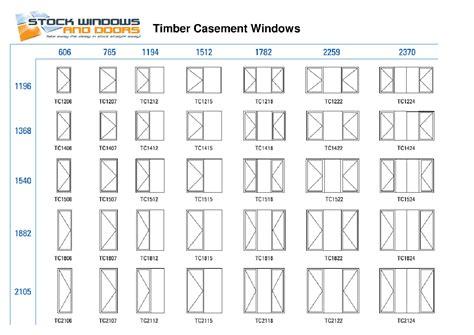 andersen doors sizes standard window size chart australia timber casement