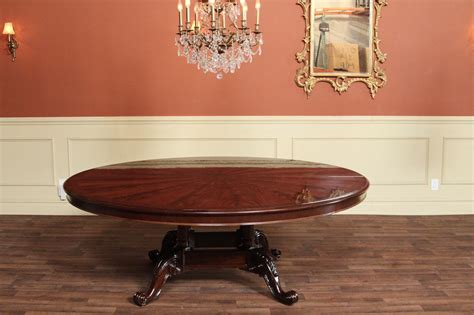 high  large  mahogany dining table dining
