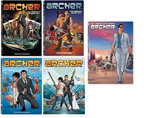 archer complete series seasons 1 5 set review shopswell