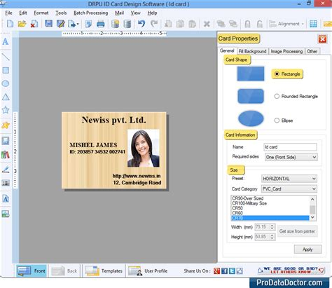 student id card maker software for mac design student id card id maker software design student company employee bulk