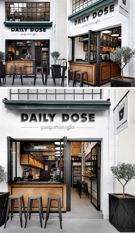 coffee shop design book andreas petropoulos has designed a small takeaway coffee