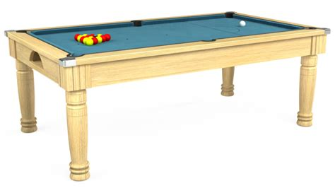 Majestic Pool Dining Table 7ft Majestic Pool Table In Light Walnut Smart Cloth