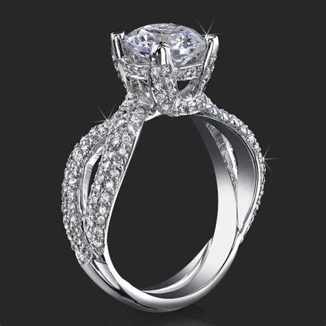 designer engagement ring settings wedding and bridal