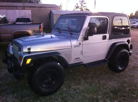 Jeep Wrangler For Sale Louisiana 2005 Jeep Wrangler Sport For Sale In Baton Louisiana