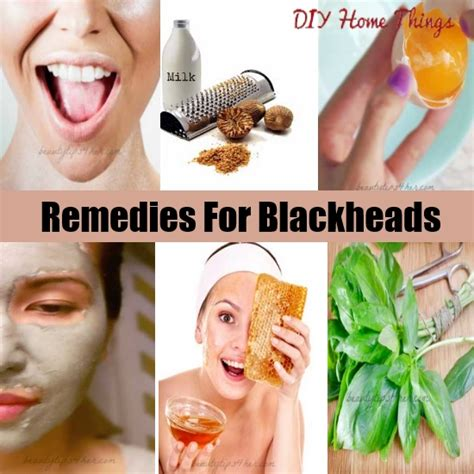 top diy remedies for removing blackheads diy home things