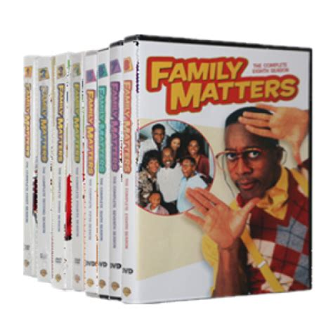 8 In 1 Family family matters seasons 1 9 dvd boxset