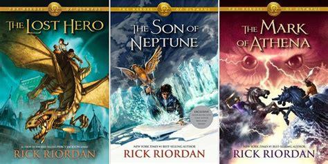 The Heroes Of Olympus heroes of olympus series by rick riordan books i m reading