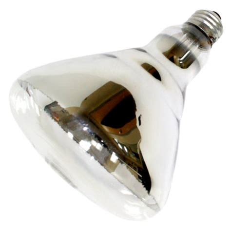 sylvania 14664 250br40 1 120v heat l light bulb