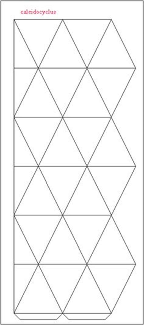 How To Make A Flexagon Out Of Paper - blank flexagon templates printables calendar template 2016
