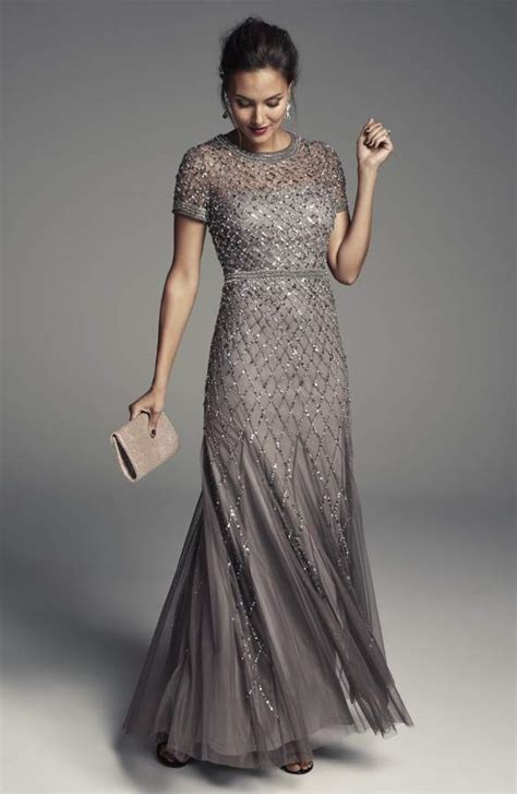 Sequined And Beaded Gowns For The Of The