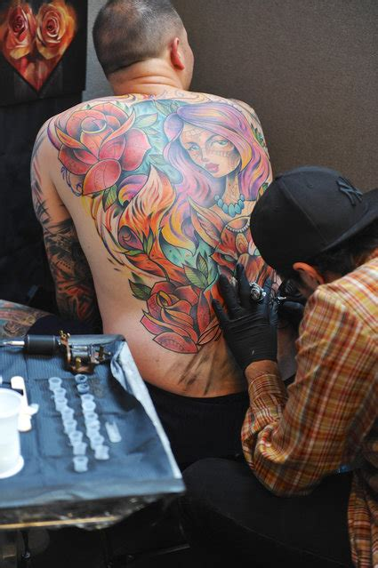 tattoo convention london tobacco dock london tattoo convention 2016