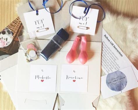 pop me diy pop me balloon gift box will you be my bridesmaid