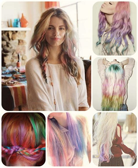 types of ombre hair color 7 with rainbow hair and how to dye ombre