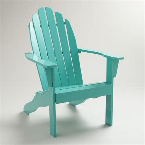 Blue Adirondack Chair by Baltic Blue Classic Adirondack Chair World Market