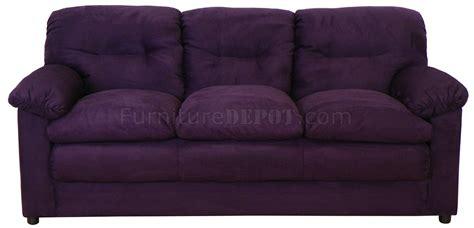 6300 sofa loveseat set in bulldozer eggplant by chelsea