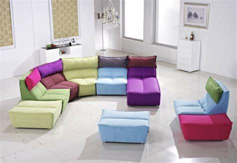 Bunte Designer Sofas by Sch 246 Ne Sofas Lassen Das Wohnzimmer Charmanter Aussehen