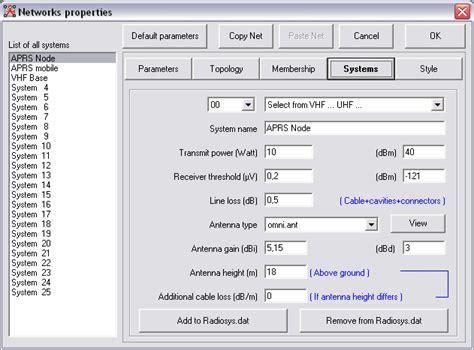 format file dat radio mobile rf propagation simulation software