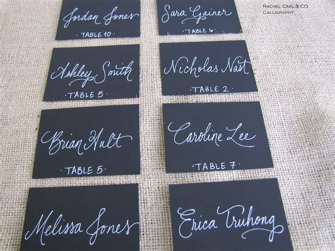 wedding place cards handwritten or printed 17 best images about type place cards on watercolors card tables and wedding