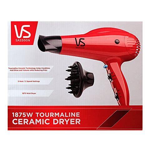 Vidal Sassoon Hair Dryer Attachment Replacements offer cheap vidal sassoon vs547 1875w tourmaline ceramic