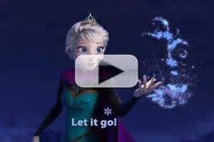 Stage tube disney debuts sing along edition of frozen s let it go