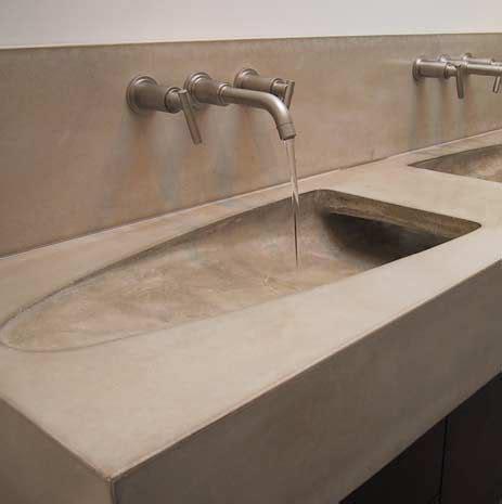 Diy Concrete Trough Sink by 106 Best Images About Concrete On Concrete