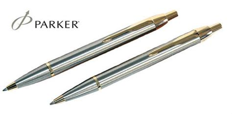 Insignia Ss Gt Pencil im gold trim corporate gift pen and pencil sets