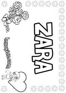 Zara coloring pages hellokids com