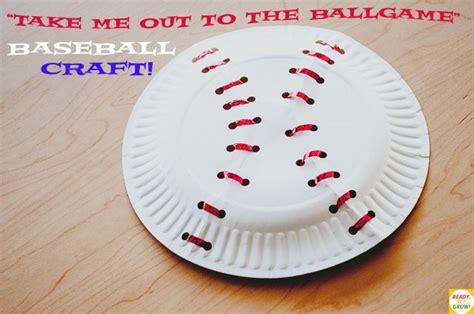 baseball crafts for take me out to the ballgame baseball craft preschool