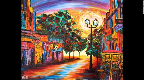 art design new orleans magazine painting allows blind artist to see a world of color cnn