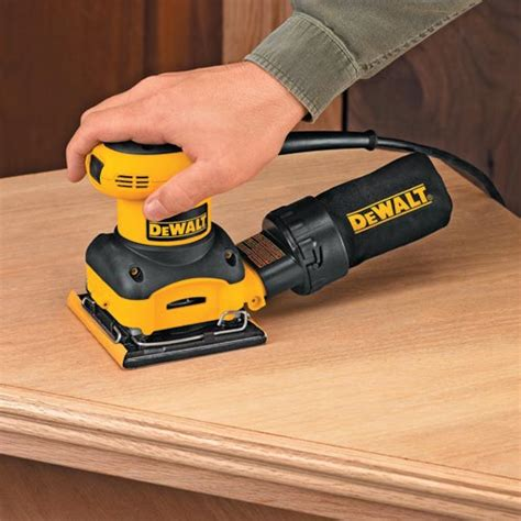 best electric power sander for refinishing furniture