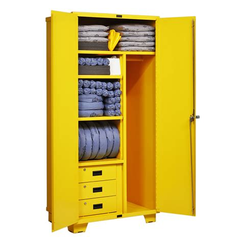 Kit Cabinets by New Pig Compiles Cabinet Spill Kit