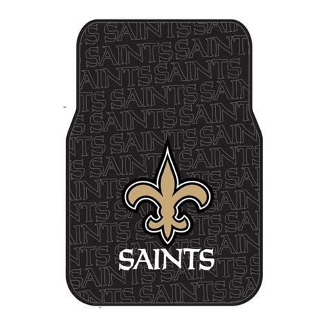 New Car Floor Mats by New Orleans Saints Nfl Car Floor Mat