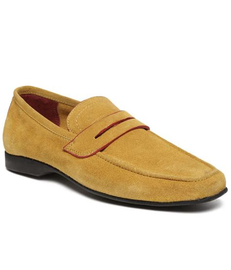 yellow loafers alberto torresi yellow loafers 8 price in india buy