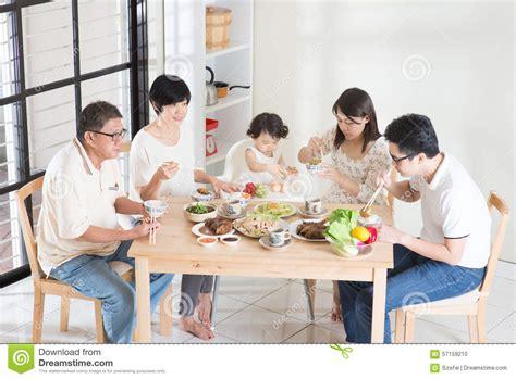 asian family dinner