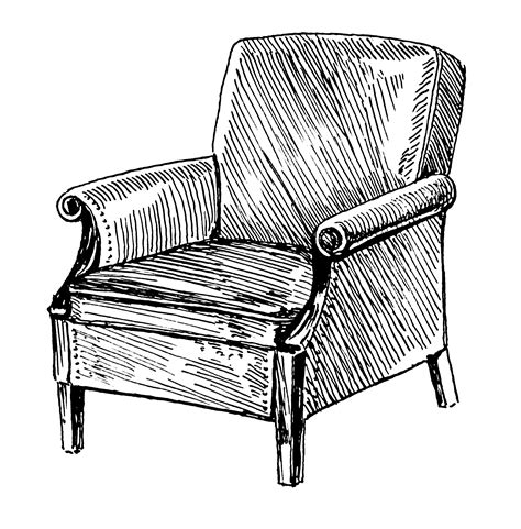 how to draw a armchair file armchair psf png wikimedia commons