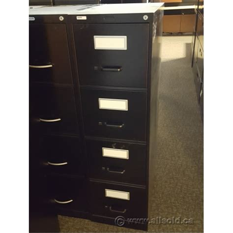4 Drawer Letter Size File Cabinet by Global Black 4 Drawer Letter Size Vertical File Cabinet