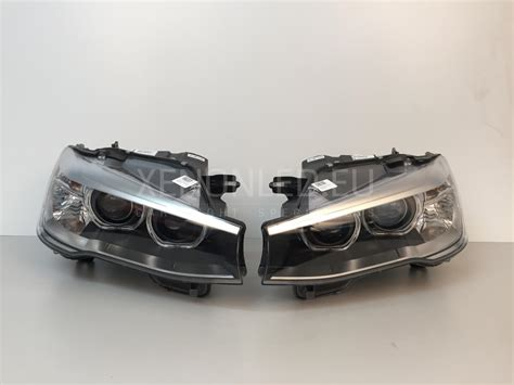 Led Xenon bmw x3 x4 series f25 f26 2014 facelift lci bi xenon headlights