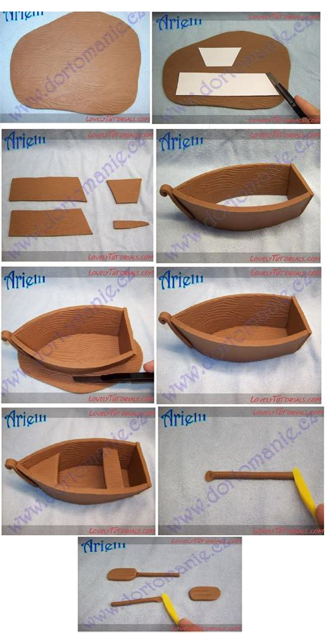moana boat fondant tutorial pin by nortjed on koekversiering pinterest clay