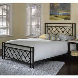 Overstock King Bed Frame Overstock Lattice Bed Showcases A Transitional Style Furniture Features Rails On The